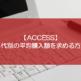 【ACCESS】年代別の平均購入額を求める方法